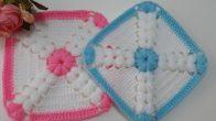 Kabartma Motifli Bebek Battaniyesi Yapılışı