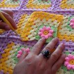 Tıp İşi Battaniyeli Kabartma Motifi Yapımı