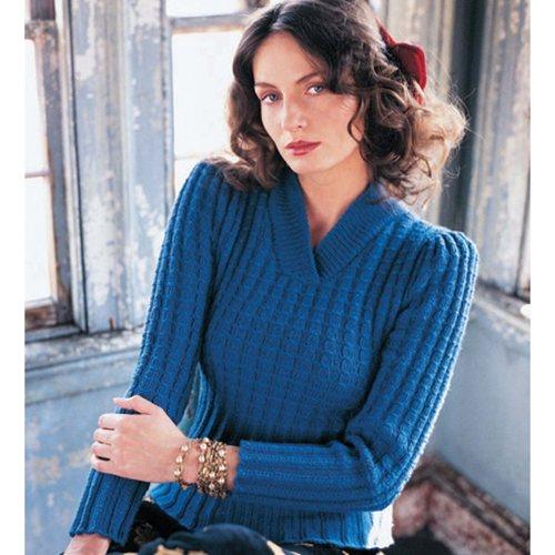 V Yaka Kışlık Bayan Bluz Modelleri
